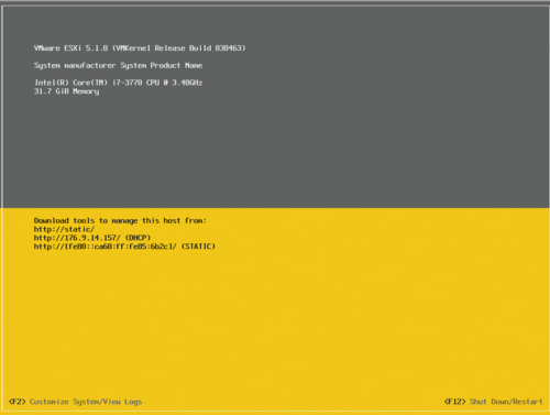vmware 6.0 how to turn on ssh
